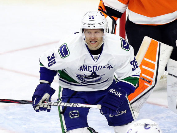 Jannik Hansen, Vancouver Canucks