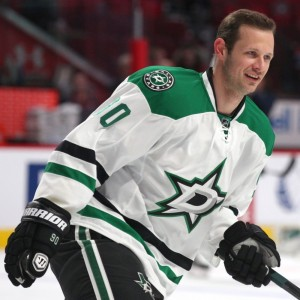 Jason Spezza's hat trick led the way in the Stars' victory over the Oilers. (Jean-Yves Ahern-USA TODAY Sports)