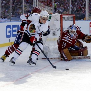 Other Central teams besides the Blackhawks deserve a look for an outdoor game (Geoff Burke-USA TODAY Sports)
