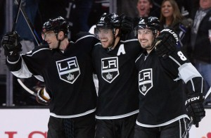 The Kings have the upper hand right now, but the Sharks are gunning for them. (Jayne Kamin-Oncea-USA TODAY Sports)