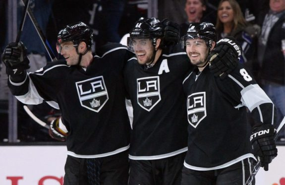 Drew Doughty and Anze Kopitar