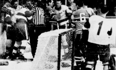 50 Years Ago in Hockey - Hurting Leafs Shock Hawks