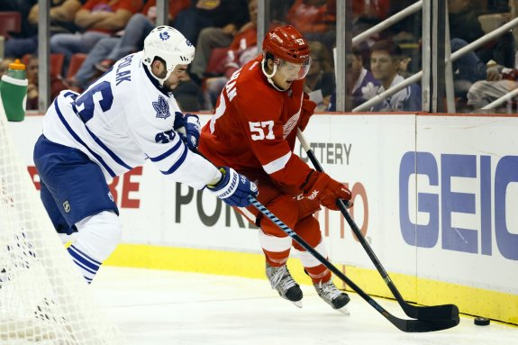 Roman Polak is another player who has drawn trade interest and could be on the move. (Rick Osentoski-USA TODAY Sports)