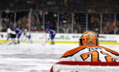 Q&A With Flyers Goalie Rob Zepp