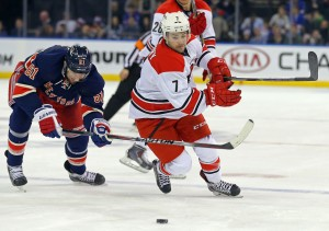 Ryan Murphy of the Carolina Hurricanes (Adam Hunger-USA TODAY Sports)