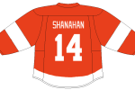 Brendan Shanahan headlines the Detroit Red Wings alumni team in their showdown with Colorado.