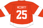 Darren McCarty will surely be a part of the Detroit Red Wings alumni team.