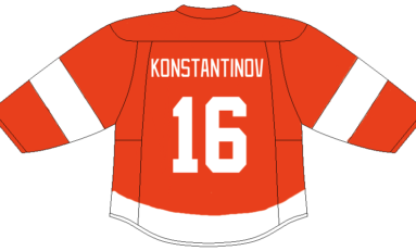 Time for Red Wings to Retire Konstantinov's No. 16