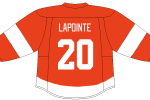 Canadiens Assistant GM Martin Lapointe should be a lock to join his old teammates on the Detroit Red Wings alumni team.