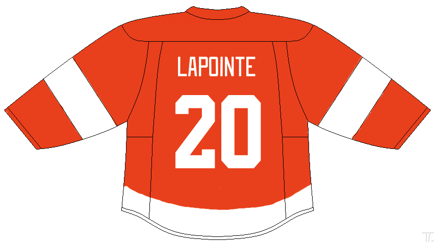 Martin Lapointe of the Detroit Red Wings.