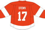 Doug Brown took part in many battles against the Avalanche while with the Detroit Red Wings.