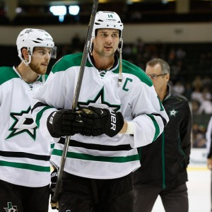 Super Stars Tyler Seguin (left) and Jamie Benn. (Michael Connell/Texas Stars Hockey)