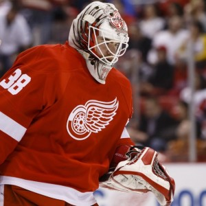 Tom McCollum could be the back-up to Mrazek pending Howard being traded (Rick Osentoski-USA TODAY Sports)