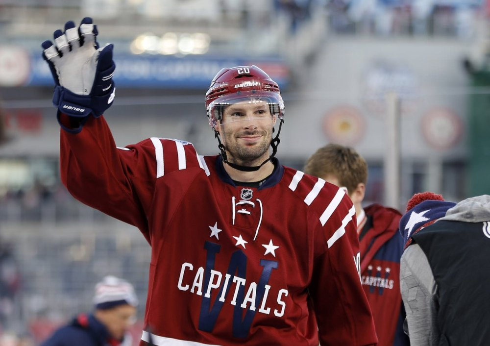 Troy Brouwer Washington Capitals