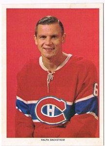 Ralph Backstrom was a two-goal shooter for the Habs.