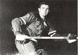 Bill Hicke scored his first NHL hat trick against his old team