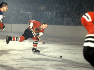 Bobby Hull now has 35 goals in 37 games.