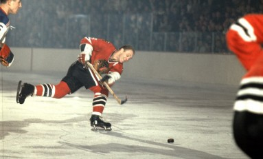 50 Years Ago in Hockey - Hull Has Hawks Even