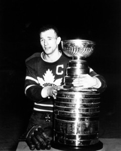 Teeder Kennnedy - Leafs' former captain snubbed by Habs' Dick Irvin.