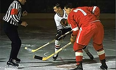 50 Years Ago in Hockey - Hawks, Wings Tie One On for New Year's Eve