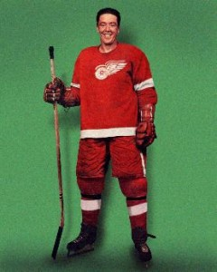 Former-Detroit Red Wings defenseman Marcel Pronovost