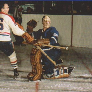 Former Leaf goalie Don Simmons