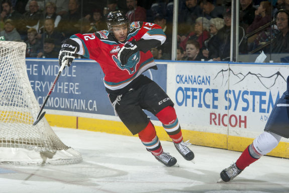 Tyrell Goulbourne (Marriss Baecker/Kelowna Rockets)