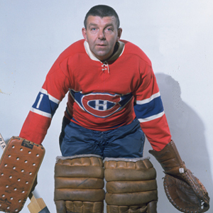 "Gump Worsley: ""Goalies' nightmare."""