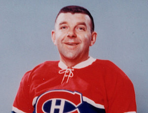 Gump Worsley turned in another great game for Canadiens.