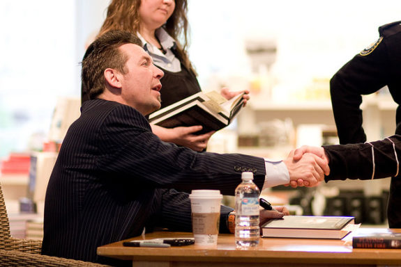 Theo Fleury, Book Signing, NHL