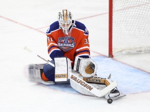 Laurent Brossoit (Steven Christy/OKC Barons)