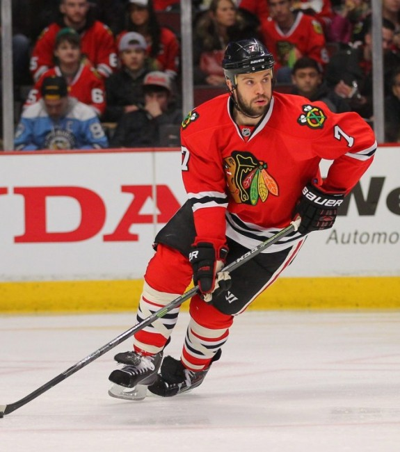 (Dennis Wierzbicki-USA TODAY Sports) Brent Seabrook is a core piece for the Chicago Blackhawks — there's no disputing that — but can they afford to keep him? Would he be willing to take less to stay, like Giordano? Or would he rather cash in like Dion Phaneuf? Those questions will be answered in the coming weeks or months.
