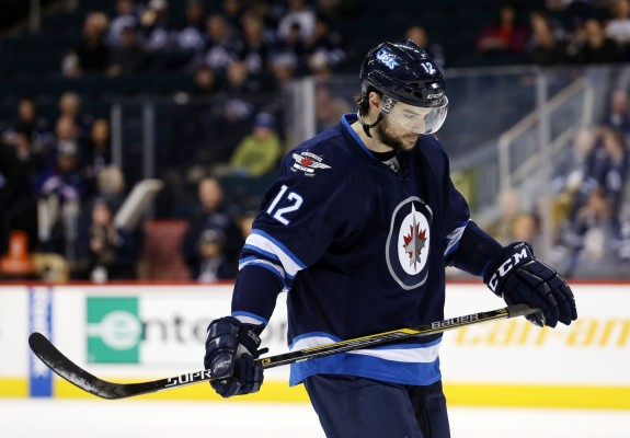 Drew Stafford Winnipeg Jets