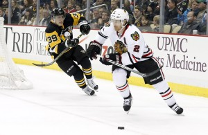 The Penguins could look to the Blackhawks for inspiration on how to solve their recent woes. (Charles LeClaire-USA TODAY Sports)