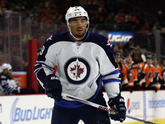 (photo: Amy Irvin) No Evander Kane, no problem? The Winnipeg Jets would like to think that's the case, but losing the enigmatic and injury-prone power forward could prove costly. So far, so good, though, with Winnipeg earning 4 points from the last 3 games without Kane.