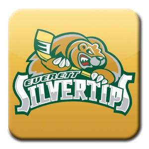 Everett Silvertips square logo