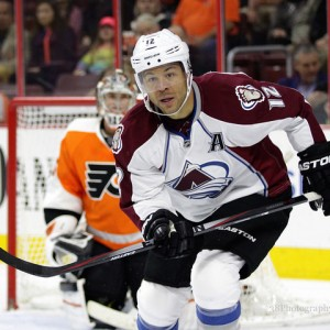 Colorado Avalanche forward Jarome Iginla