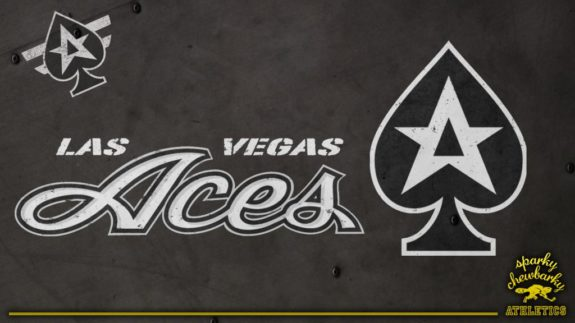 Las Vegas Aces secondary logo concept [photo: sparky chewbarky]