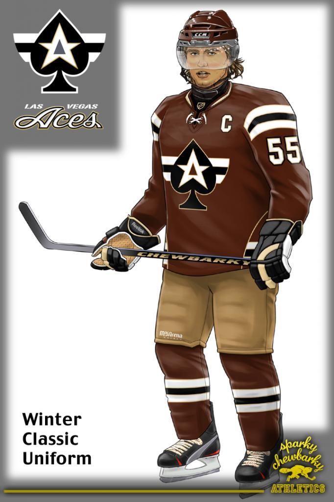 Las Vegas Aces Winter Classic Concept Jersey [photo: sparky chewbarky]