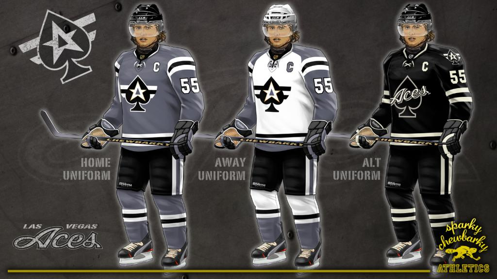Las Vegas Aces jersey set [photo: sparky chewbarky]