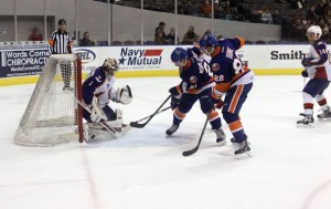 LaBarbera thinks communication between teammates and net minders are crucial to a team's success. Photo Credit: (John Wright/Norfolk Admirals)