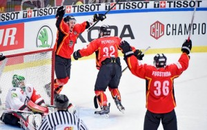 Luleå Hockey - Winners in the Champions Hockey League of 2014-2015