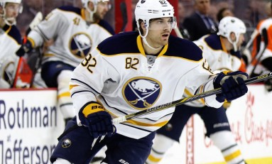 Buffalo Sabres Miss Marcus Foligno Badly