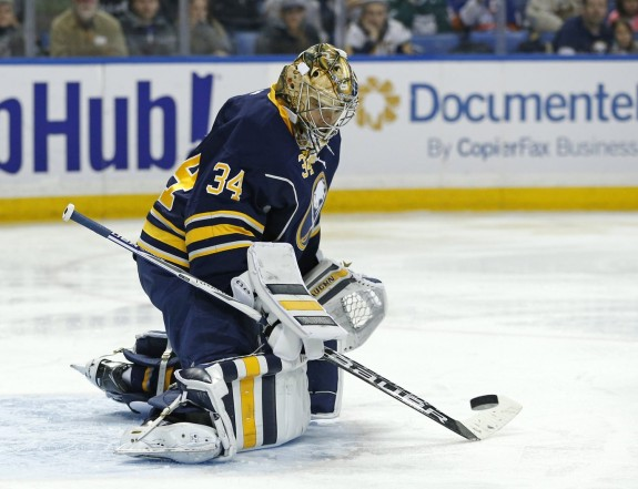 Michal Neuvirth Buffalo Sabres
