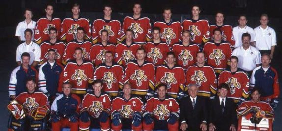 Florida Panthers Team Photo