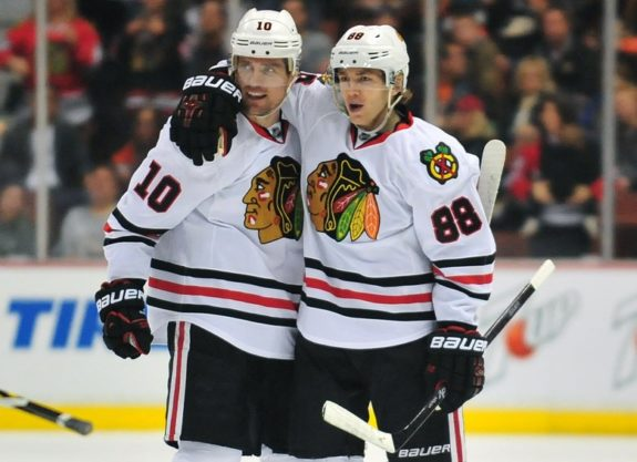 Patrick Sharp, Patrick Kane, Chicago Blackhawks