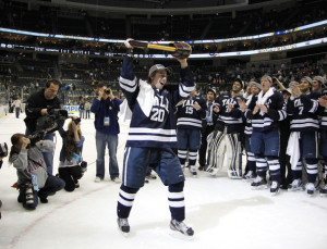 Jesse Root of Yale winning National Championship