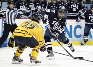 Jesse Root of Yale in National Championship game vs Quinnipiac