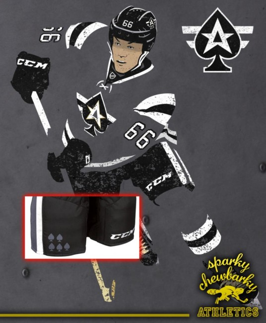 Las Vegas Aces concept jersey action shot [photo: sparky chewbarky]