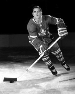 Bob Baun - his crushing body check tore ligaments in Bobby Hull's knee.